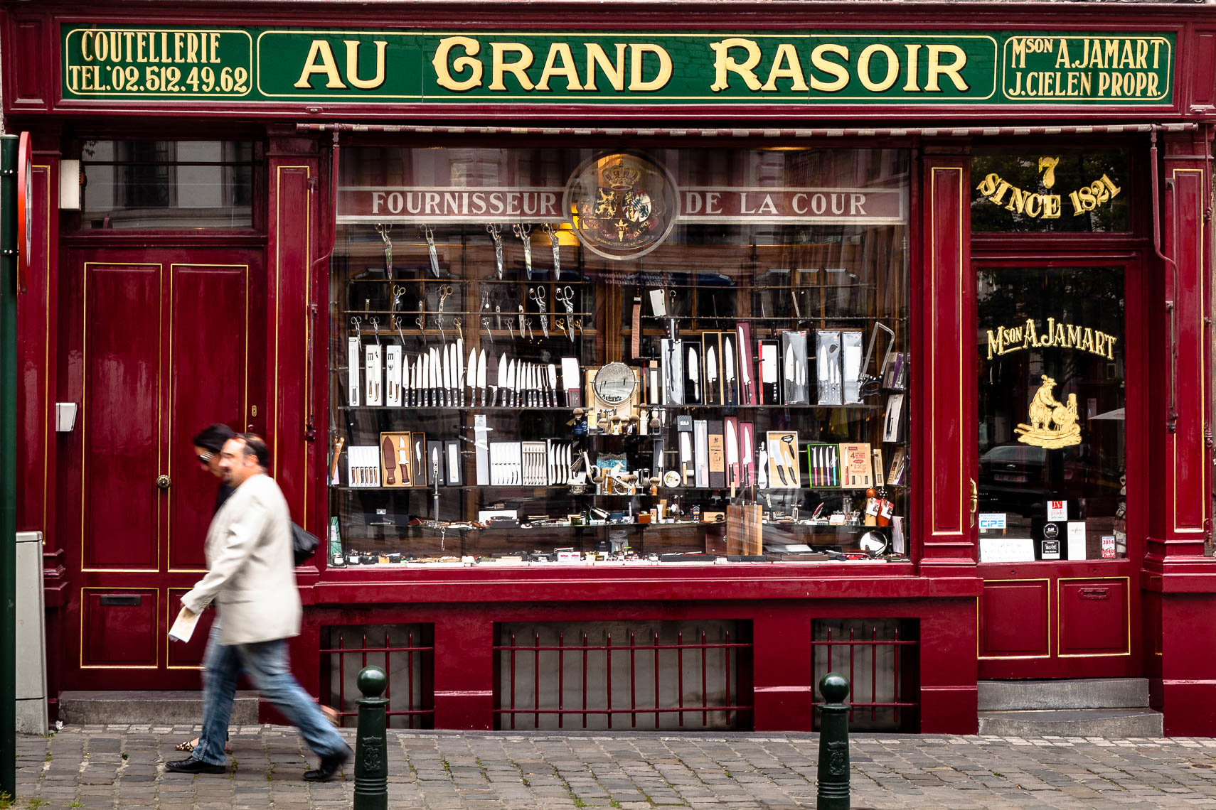 Au Grand Rasoir, Brussels
