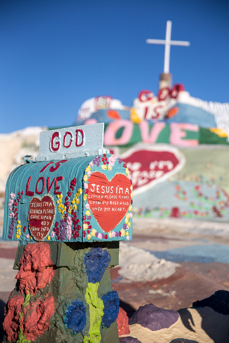 Letters to Jesus, Salvation Mountain, Slab City, CA