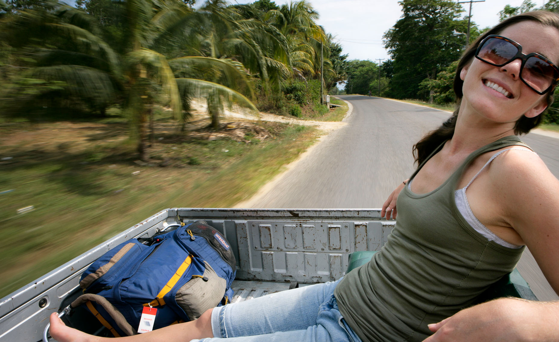 Pickup Truck Packer - Belize