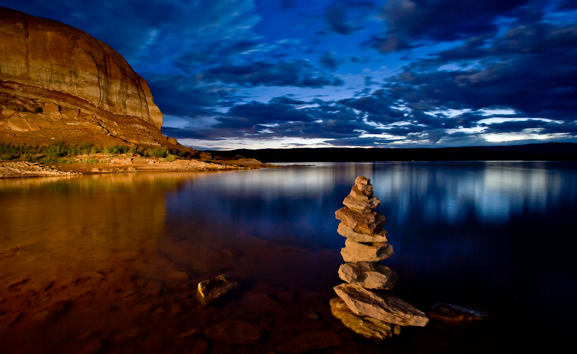 Sunset Carin - Lake Powell